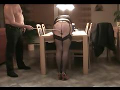 Homemade Spanking Caning 2
