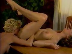 Ginger Lynn Allen, Kristara Barrington, Erica Boyer in classic sex clip
