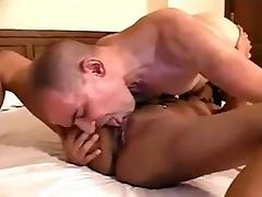 Sexy Asian gently fucked by white Man