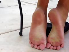 Asian feet toes, and soles