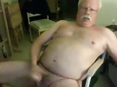 sexy grandpa stroke (no cum)