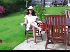 Donna Ambrose AKA Danica Collins - In the garden