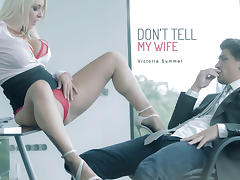 Victoria Summers in Don't Tell My Wife - OfficeObsession