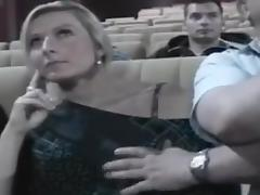 Nikki groped in the cinema