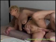 very experienced blonde mature bitch