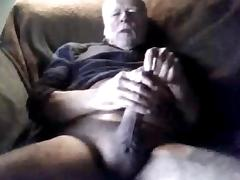Grandpas cock compilation on cam