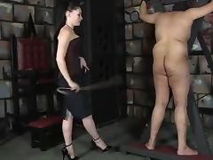 Caning slave