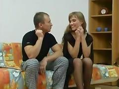 Hot Russian skinny girl
