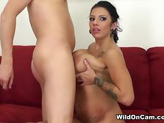Lylith LaVey in Bangin Lylith - WildOnCam