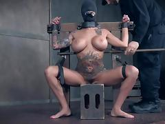 busty lily is subjected to humiliation