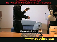 christina gets fucked on the casting couch