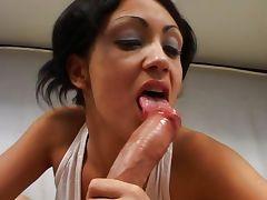 Horny Latina fiinishes you