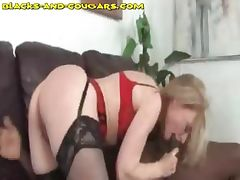 Cougar Sucks Before Rides BBC