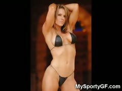 Hot Fitness Girls and Muscled GFs