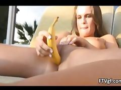 Cute natural babe with firm tits loves part4