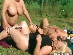 Horny mature lesbians enjoying in wet part2