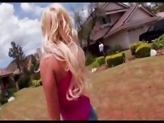 Breanne Benson Blonde Blowjob Cumshot