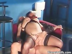 Hot old milf enjoy hot fucking by the part5