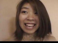 Japanese amateur Nagisa in public
