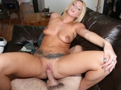 Blonde GF Wants To Fuck Hard