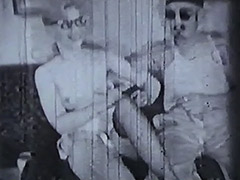 Three Brothers Fucking Hot Blonde 1950