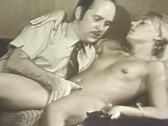 Blonde Girl Hypnotized in to Having Sex 1960