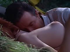 Redhead Fucked in the Forest 1960