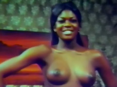 Ebony Babe Teases Us with Her Charms 1950