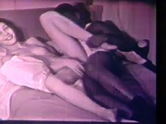 Interracial Couple Has Sex with No Borders 1960
