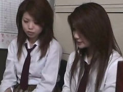 stationmaster schoolgirls caught fare dodging 13 beuatiful girls