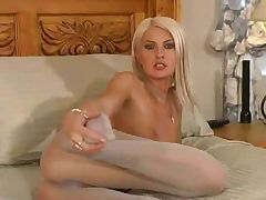 Kelly Marie Pantyhose Seduction