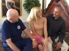 Darryl spreads her legs