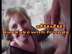 Bukkake with friends
