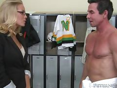 Adorable Nicole Aniston getting fucked in the dressing room