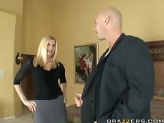 Beautiful Blonde Darryl Hanah Banged by The Wedding Banger