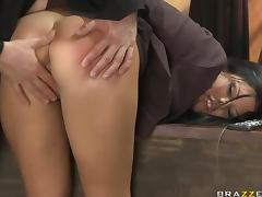 Judge Delivers Rogh Sexual Discipline To The Slutty Madison Parker
