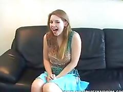 Beautiful Amateur Blonde Teen Sunny Lane Gets Fucked and Creampied