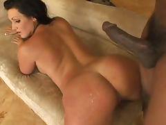 Interracial Butt Pounding With The Hot Brunette Corina Jayden