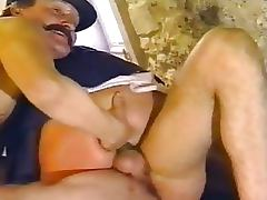 Kinky Lesbian Nuns Get Fucked and Facialized in Threesome Retro German Porn