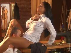 Mikayla Mendez chooses a cock