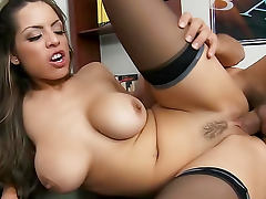 Yurizan Beltran hardcore sex on desk