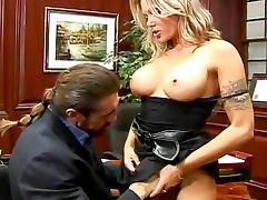 Anna Nova pornstar hardcore sex in office