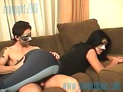 Masked Couple Fucking Like Crazy
