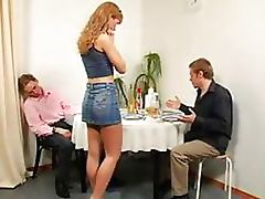 Submissive Redhead Babe Gets Her Juicy Round Ass Whipped and Spanked