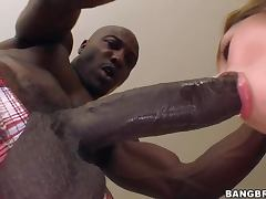 Horny Blonde Milf Aiden Starr Takes A Monster Cock In An Interracial Scene