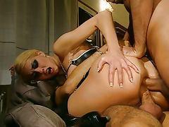 Hot anal sensation with big dicks