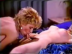 Sharon Kane and Retro are making out in a wild shemale sex