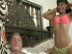 Yuki Mori And Jessica Bangkok White Stepdaddy