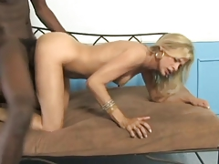 Naughty Payton Leigh Gets Spit Roasted By These Pricks