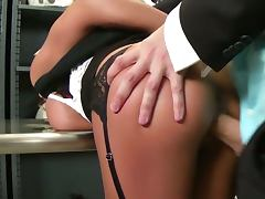 Madison ivy gets banged by a thief